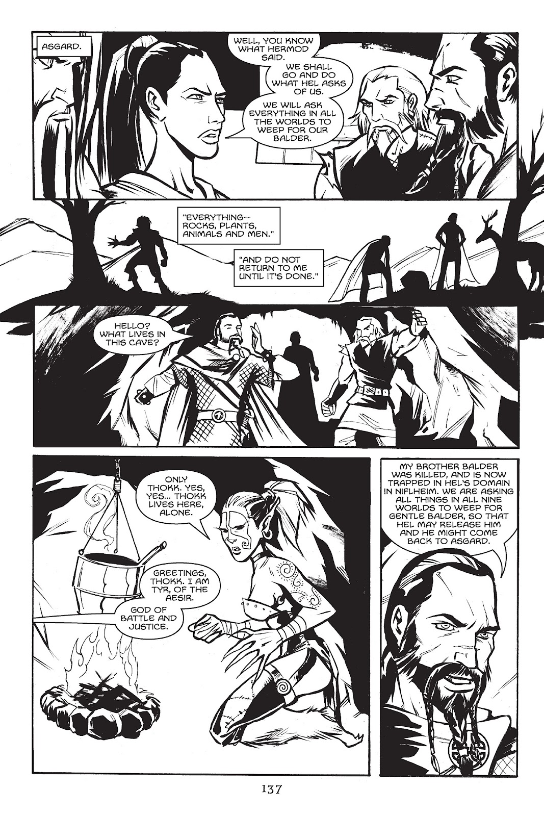 Read online Gods of Asgard comic -  Issue # TPB (Part 2) - 39