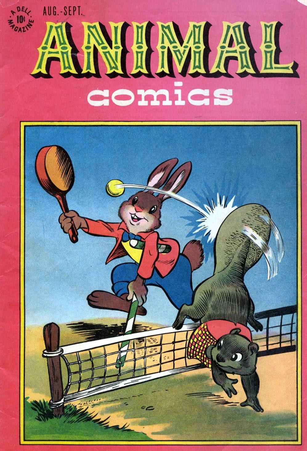 Animal Comics 22 Page 1