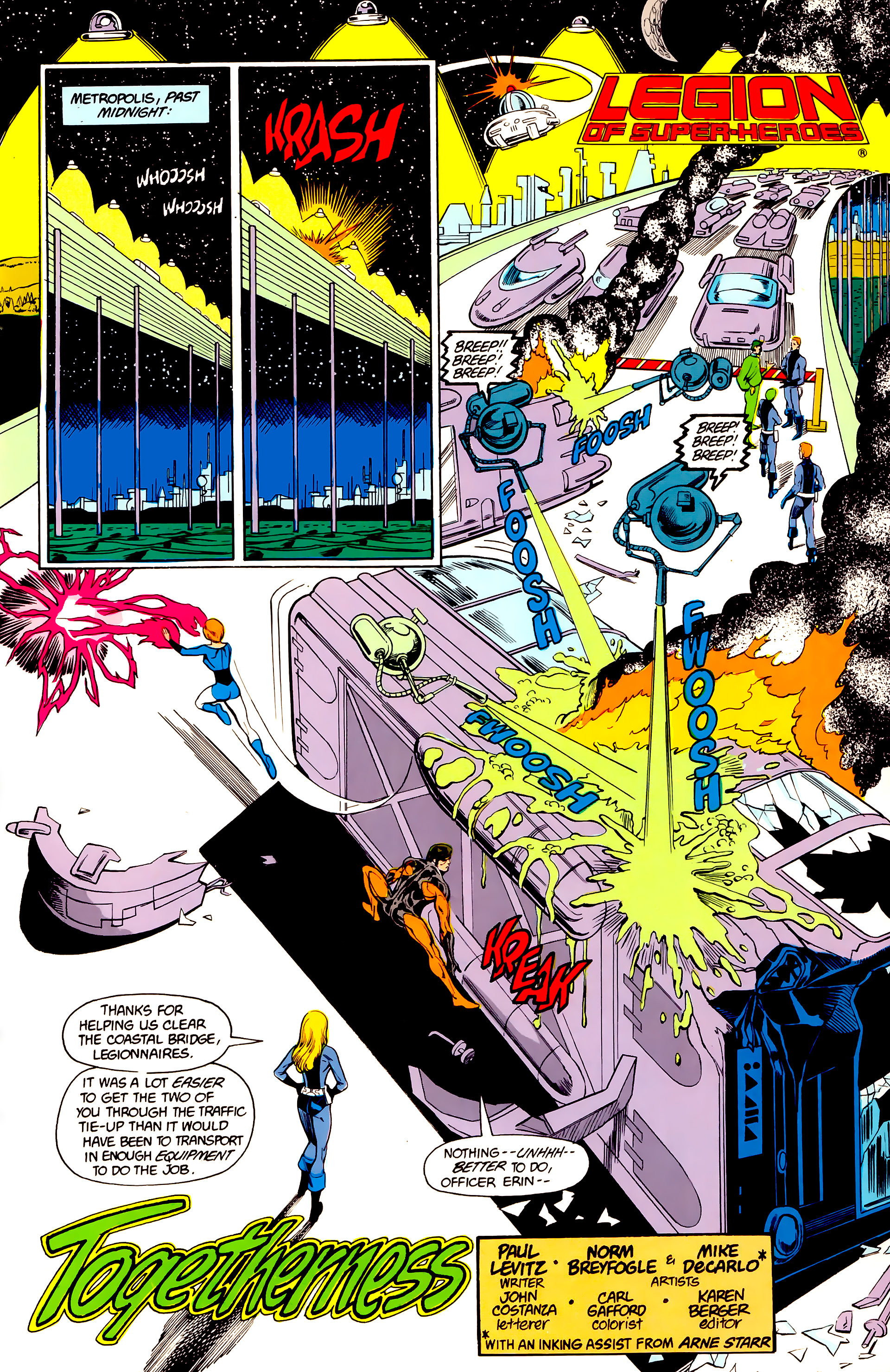 Legion of Super-Heroes (1984) 24 Page 24