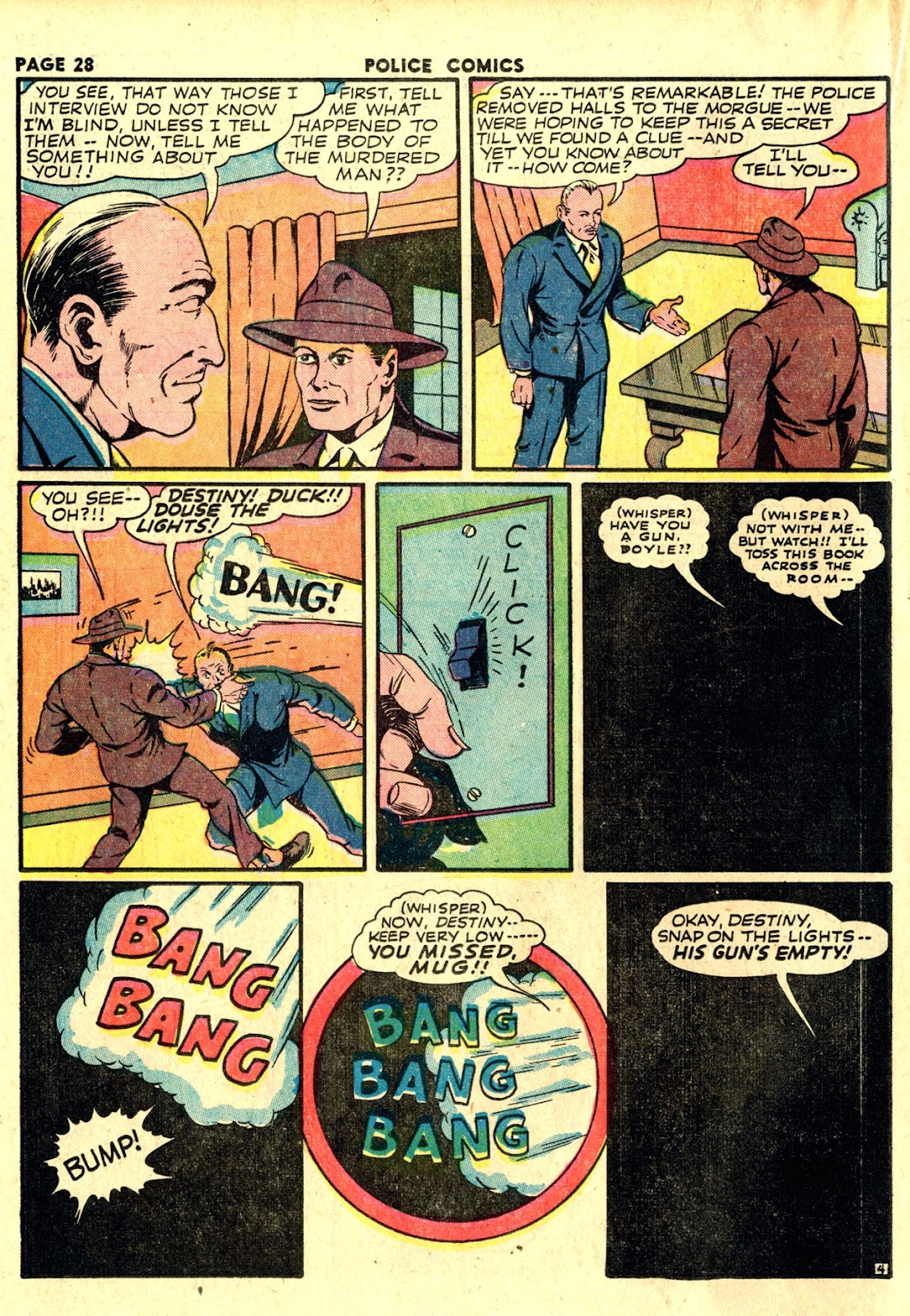 Police Comics issue 19 - Page 30
