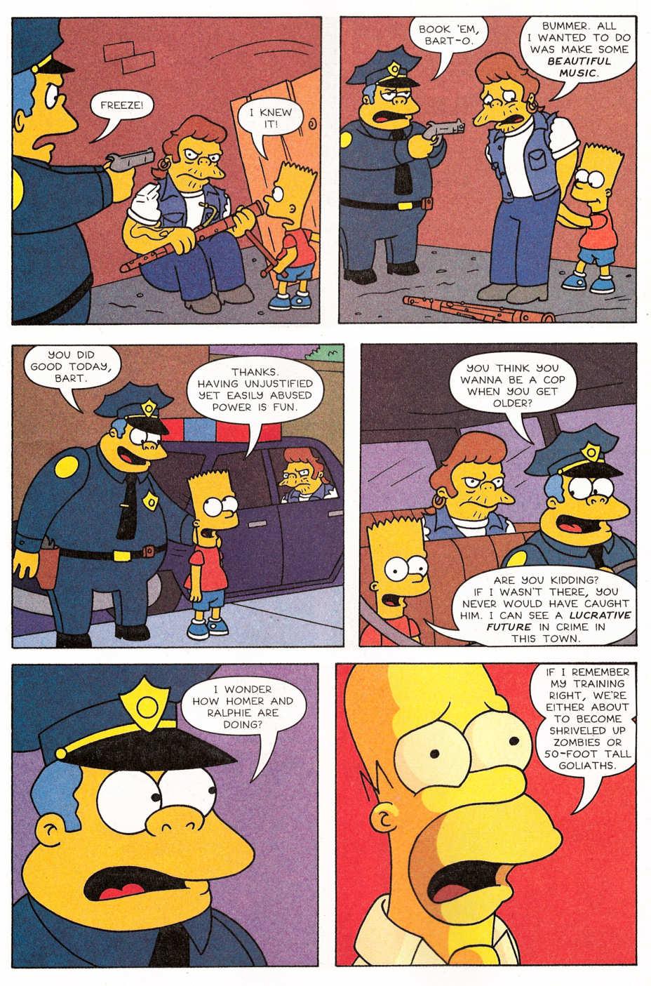 Read online Simpsons Comics Presents Bart Simpson comic -  Issue #29 - 9