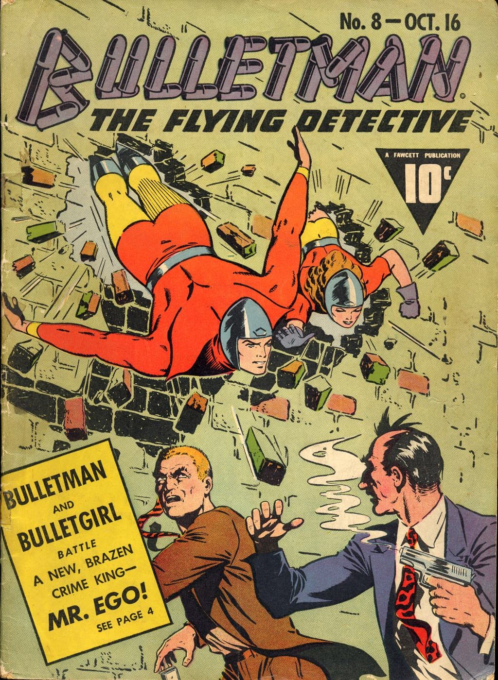 Bulletman issue 8 - Page 1