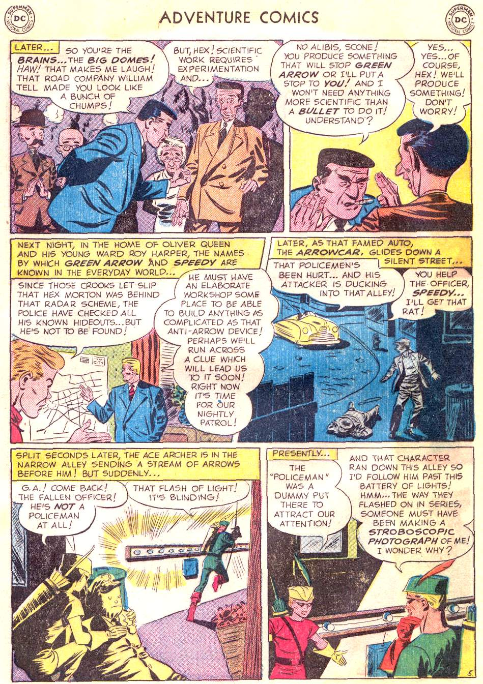 Read online Adventure Comics (1938) comic -  Issue #166 - 35
