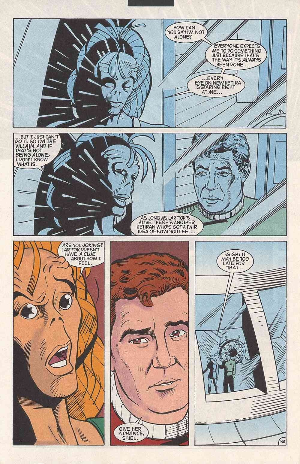 Read online Star Trek (1989) comic -  Issue # Annual 3 - 42