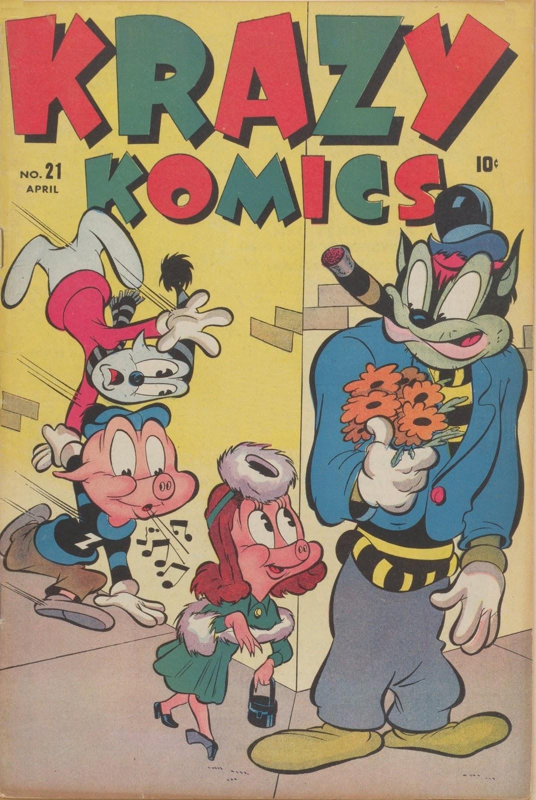 Krazy Komics (1942) issue 21 - Page 1