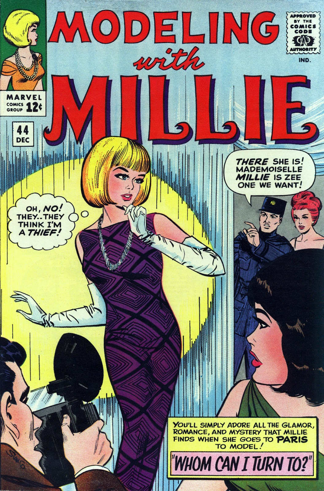 Modeling With Millie issue 44 - Page 1