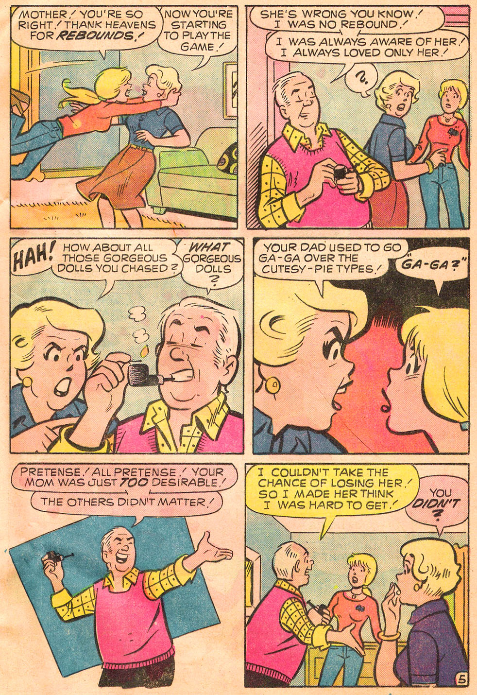Read online Archie's Girls Betty and Veronica comic -  Issue #244 - 17