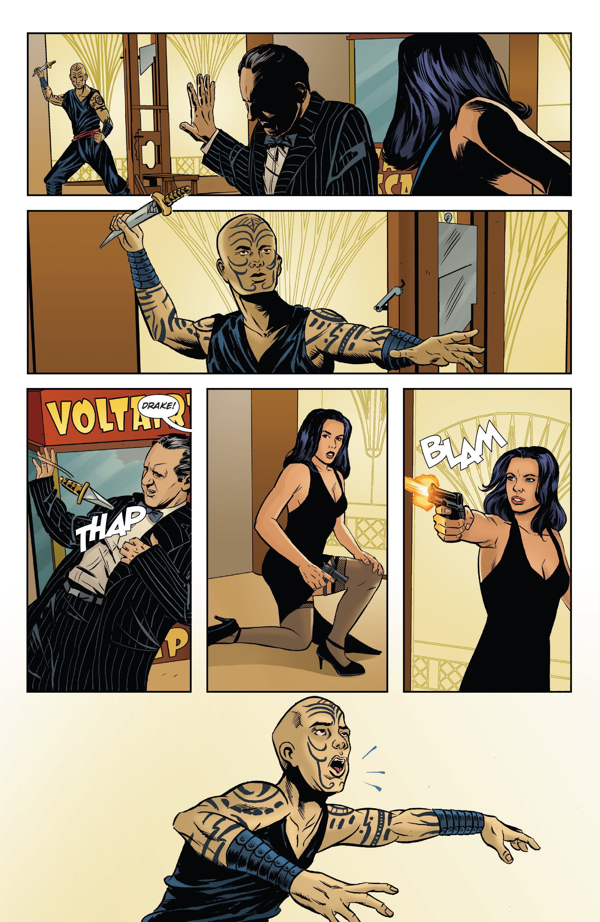 Read online Athena Voltaire and the Volcano Goddess comic -  Issue #2 - 7