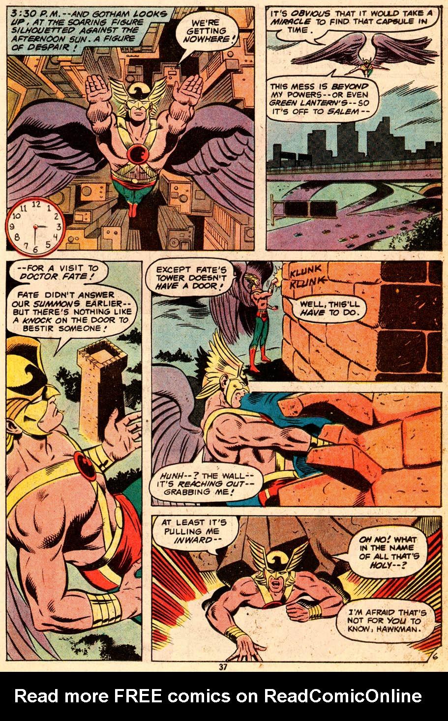Read online Adventure Comics (1938) comic -  Issue #465 - 38