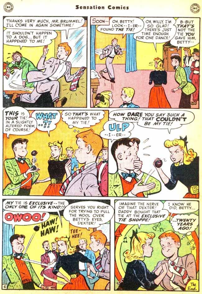 Read online Sensation (Mystery) Comics comic -  Issue #92 - 32