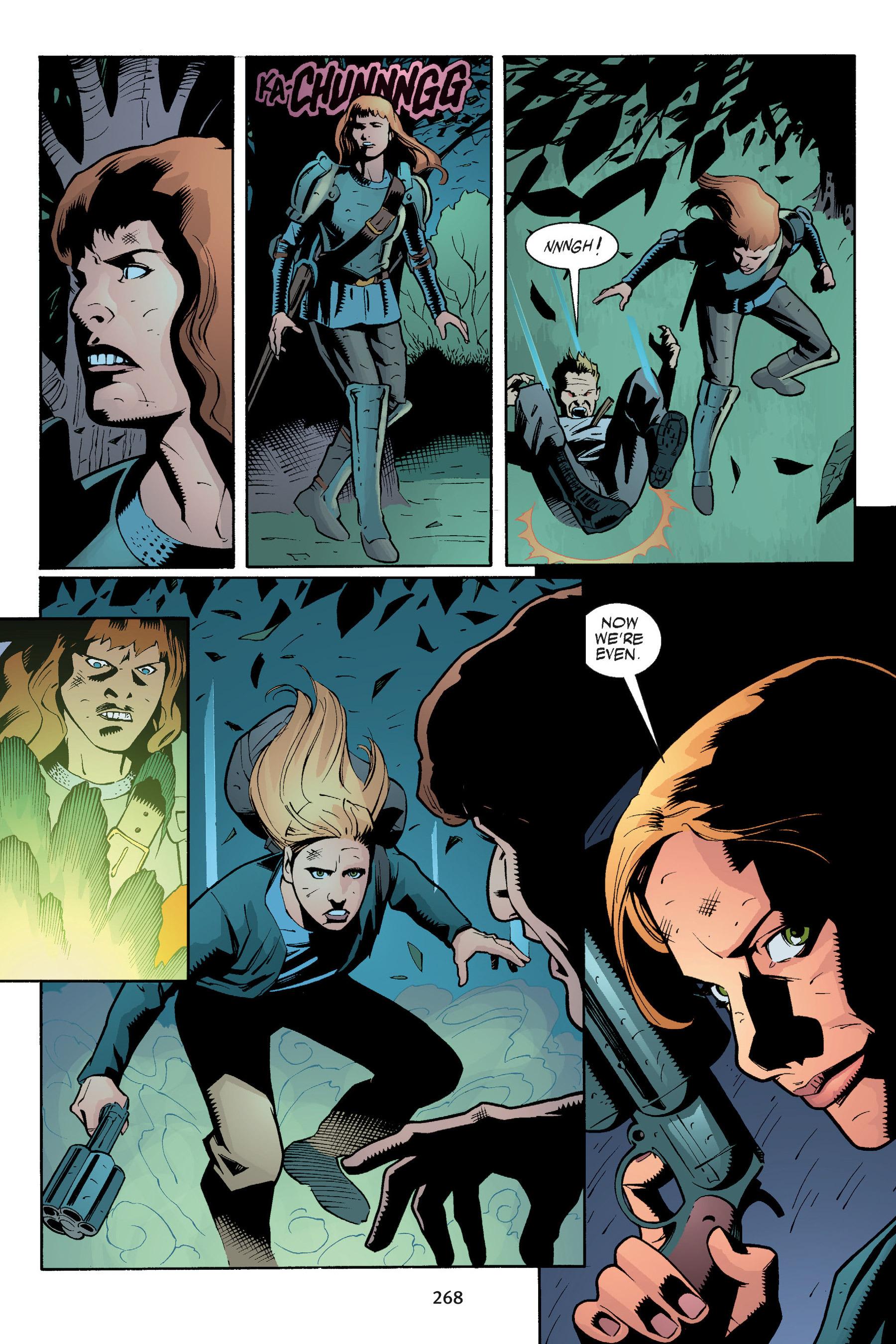 Read online Buffy the Vampire Slayer: Omnibus comic -  Issue # TPB 5 - 267