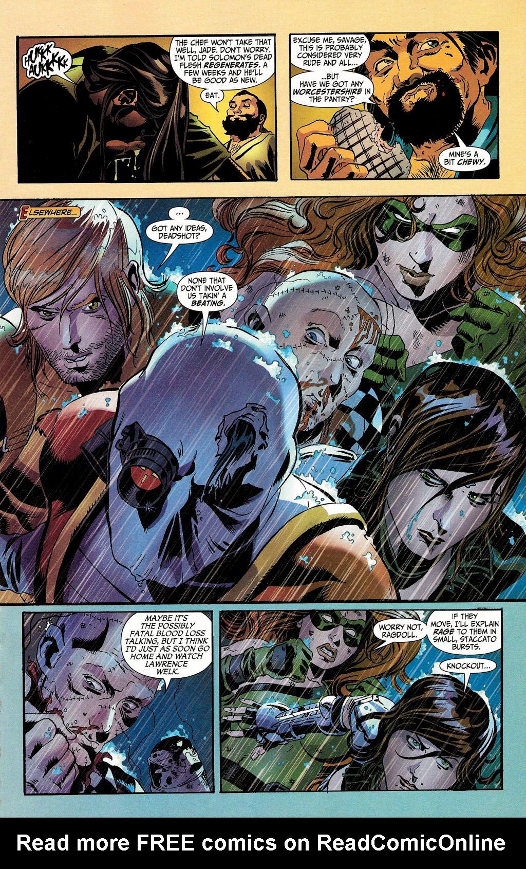 Read online Secret Six (2006) comic -  Issue #4 - 5