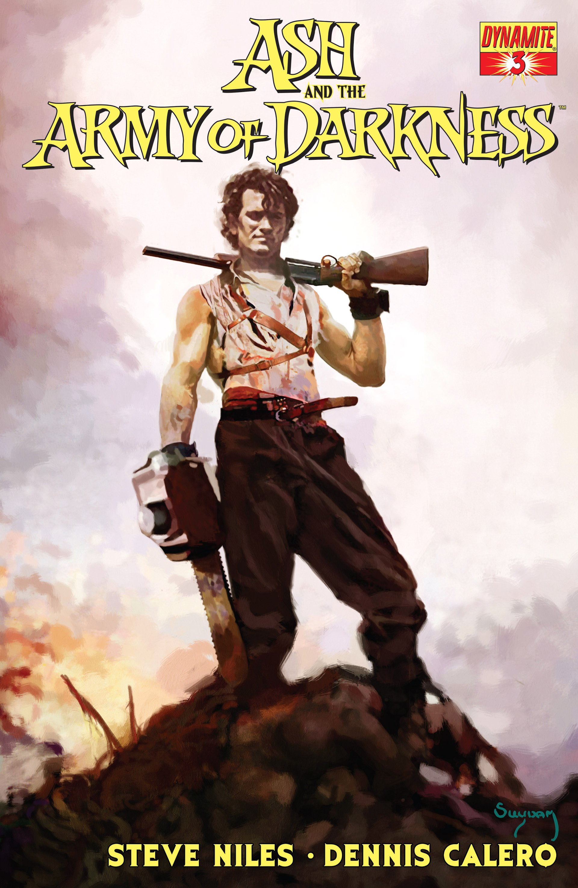 Read online Ash and the Army of Darkness comic -  Issue #3 - 1
