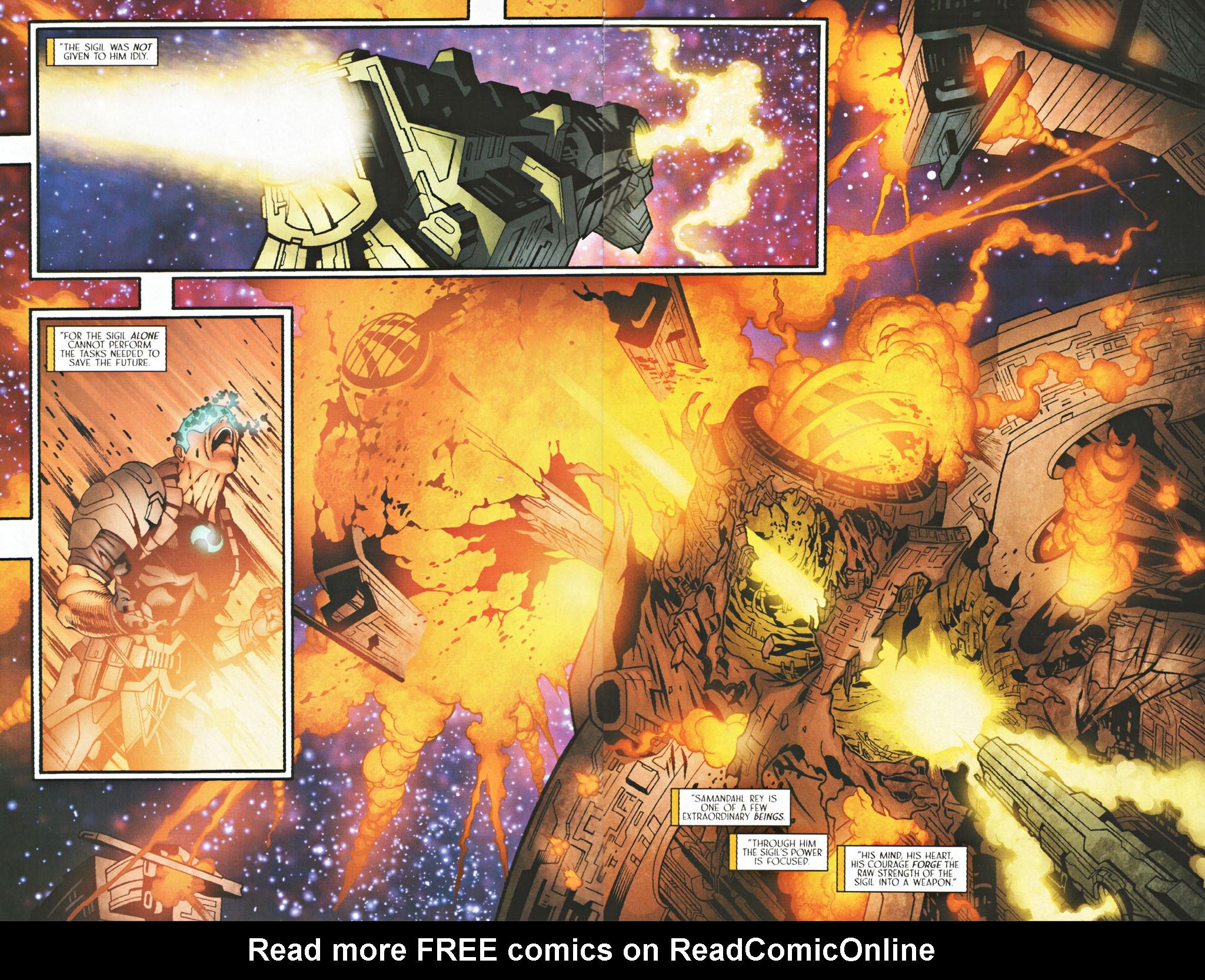Read online Sigil (2000) comic -  Issue #40 - 19
