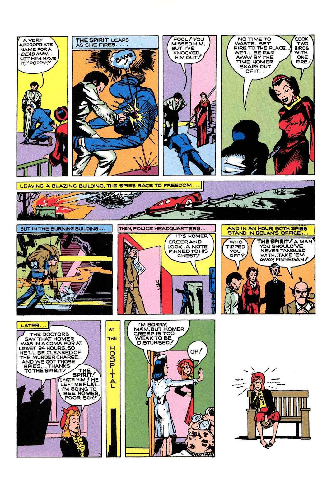 Read online Will Eisner's The Spirit Archives comic -  Issue # TPB 1 (Part 2) - 27
