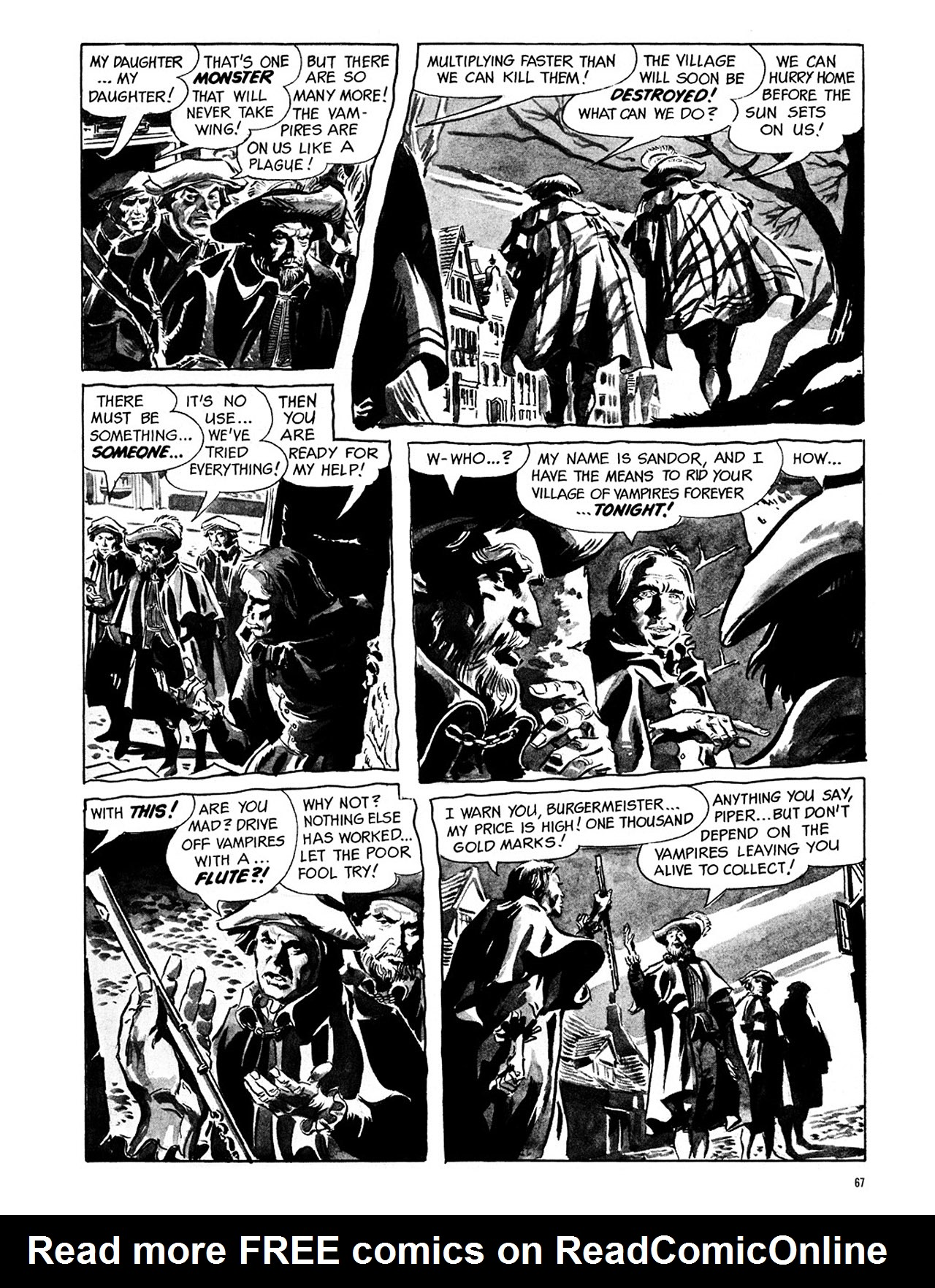 Read online Eerie Archives comic -  Issue # TPB 1 - 68