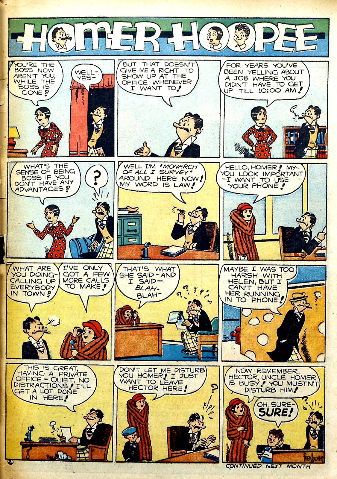Read online Famous Funnies comic -  Issue #78 - 63