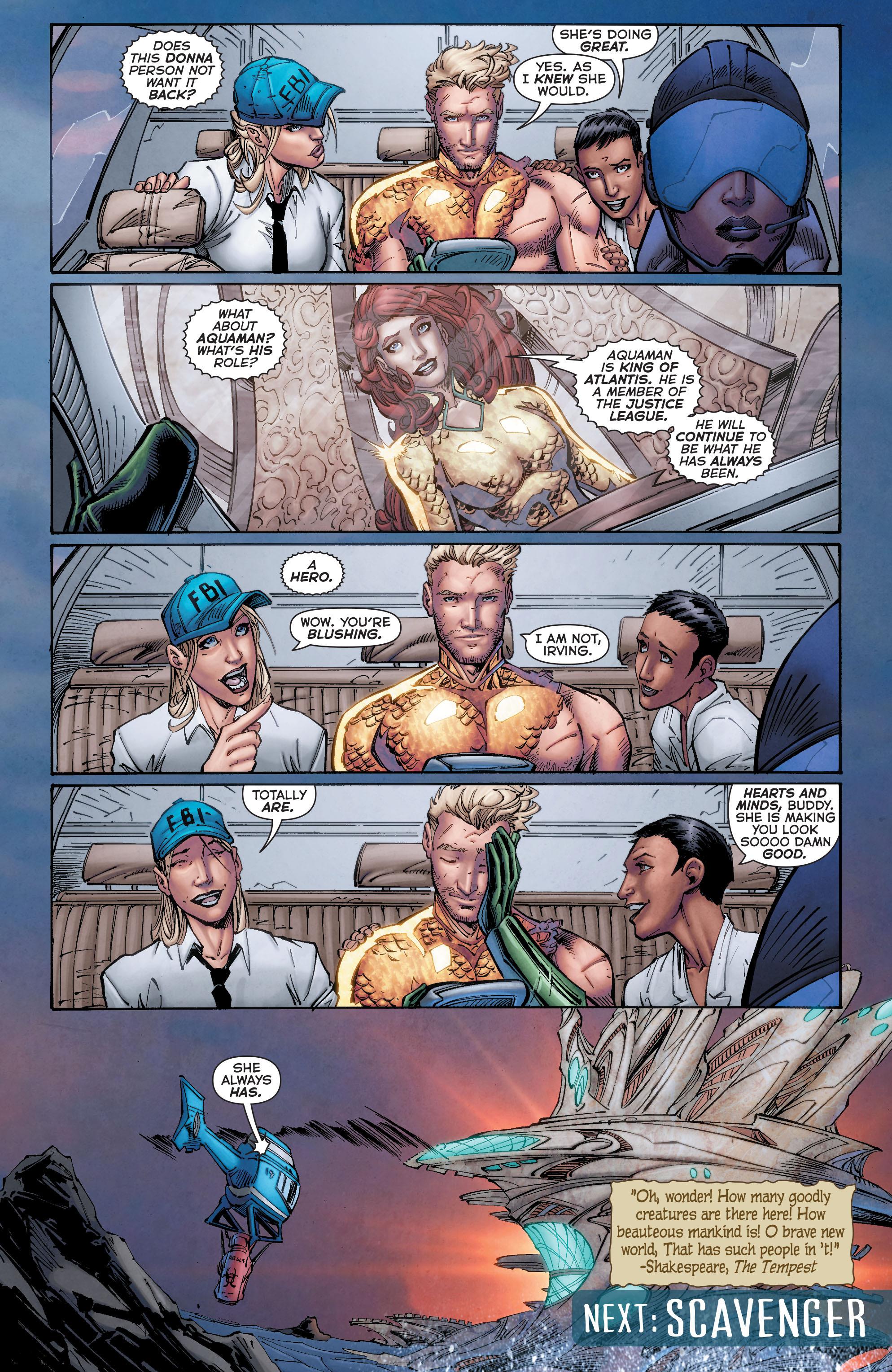 Read online Aquaman (2011) comic -  Issue #50 - 42