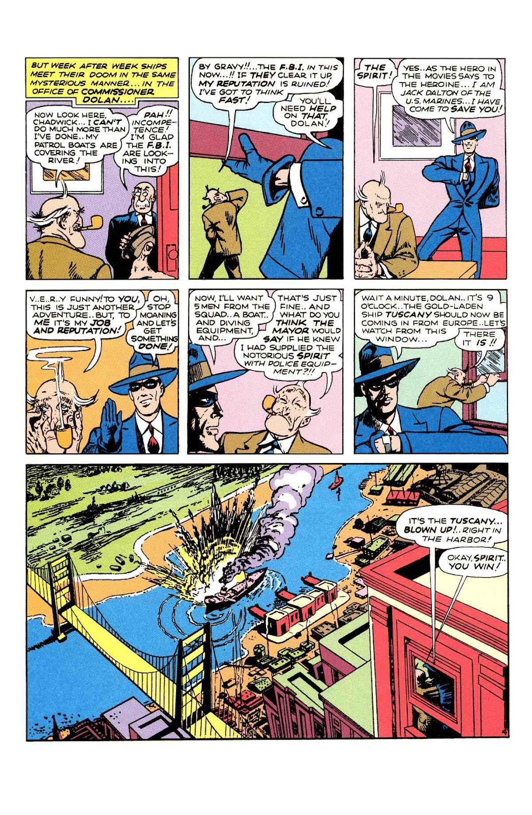 Read online Will Eisner's The Spirit Archives comic -  Issue # TPB 2 (Part 1) - 36