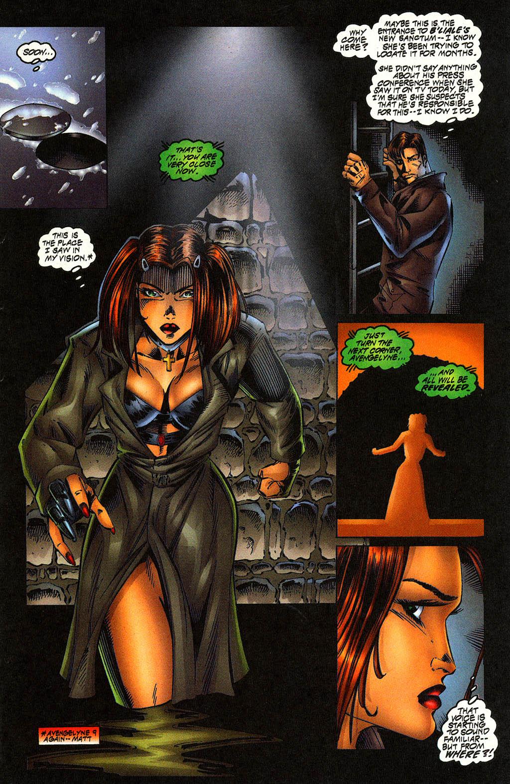 Read online Avengelyne (1996) comic -  Issue #10 - 12