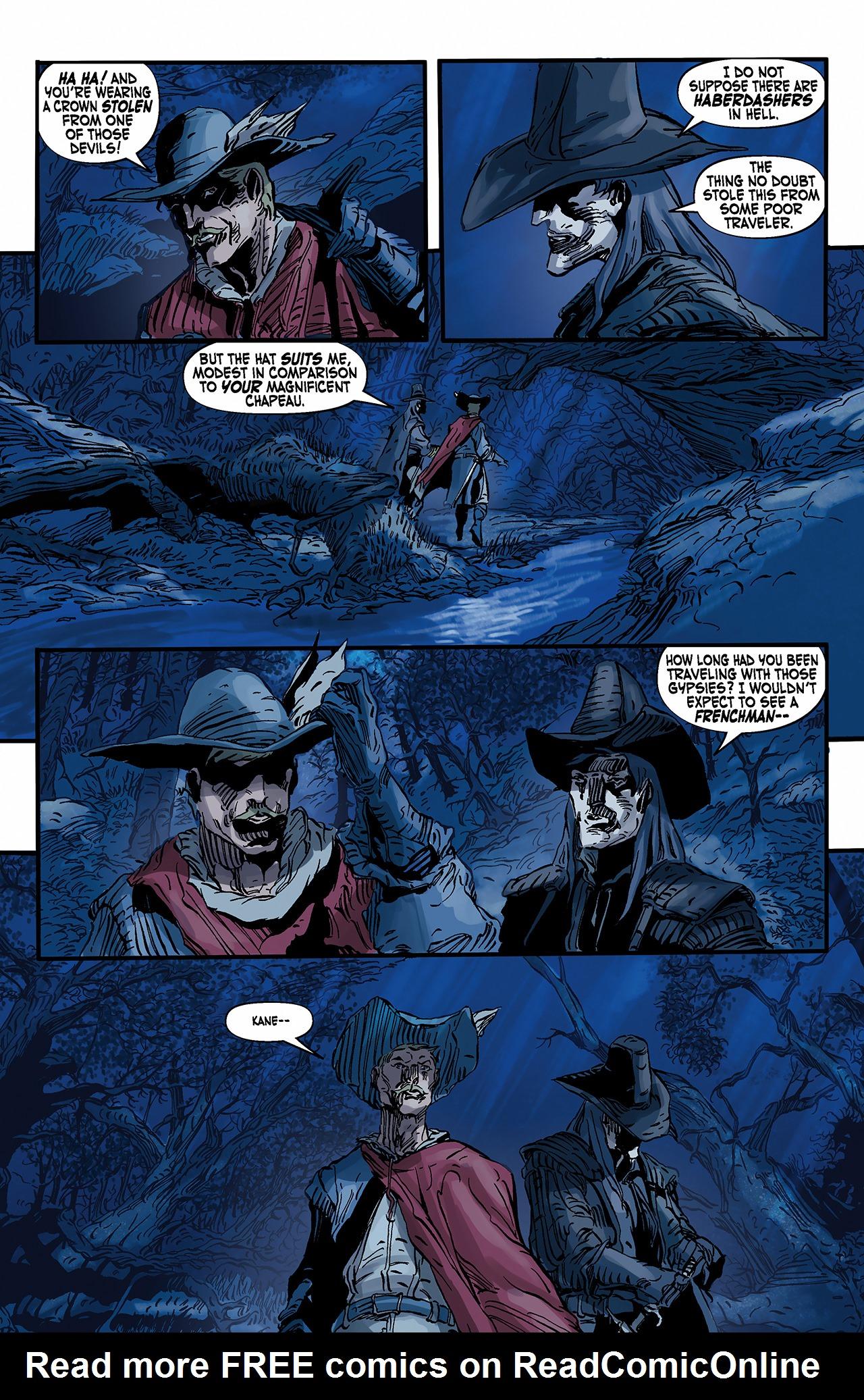 Read online Solomon Kane: Death's Black Riders comic -  Issue #2 - 5