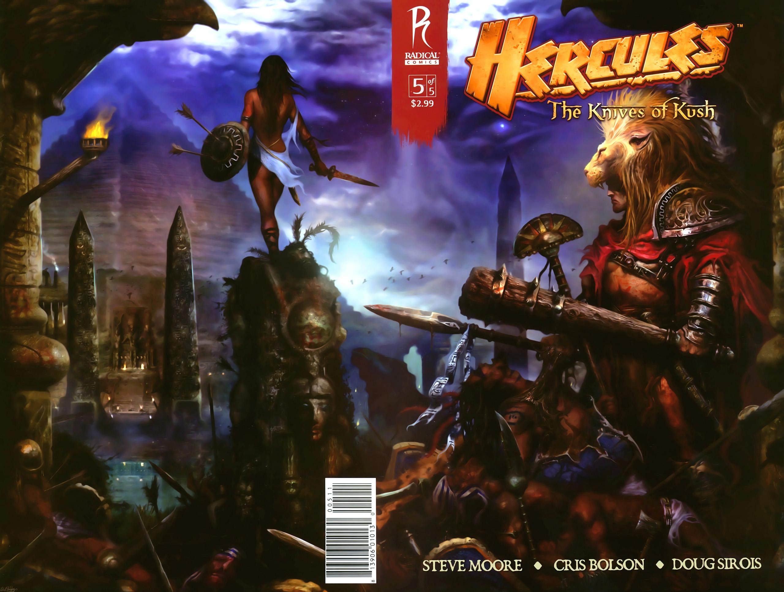 Hercules: The Knives of Kush 5 Page 1