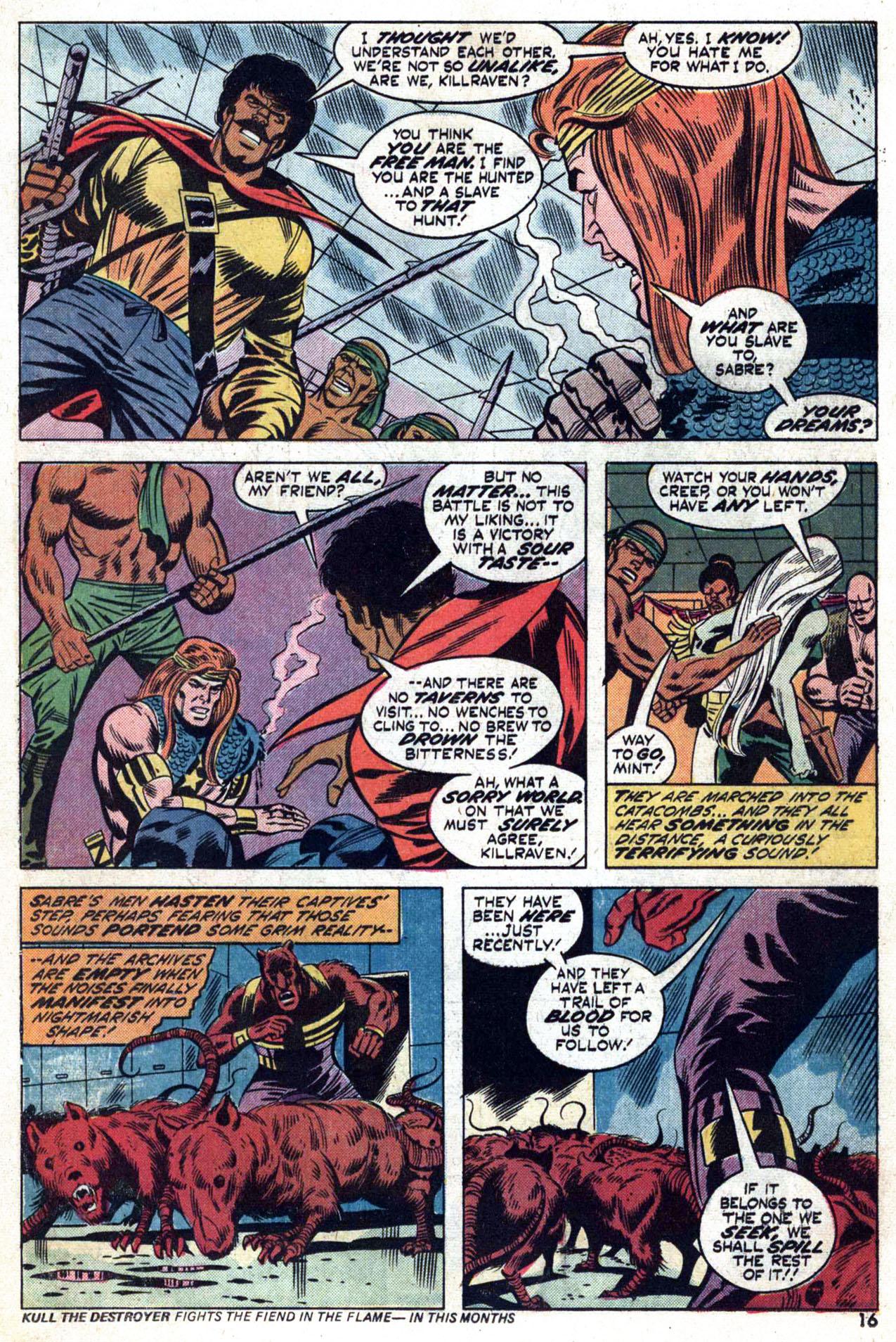 Read online Amazing Adventures (1970) comic -  Issue #24 - 17