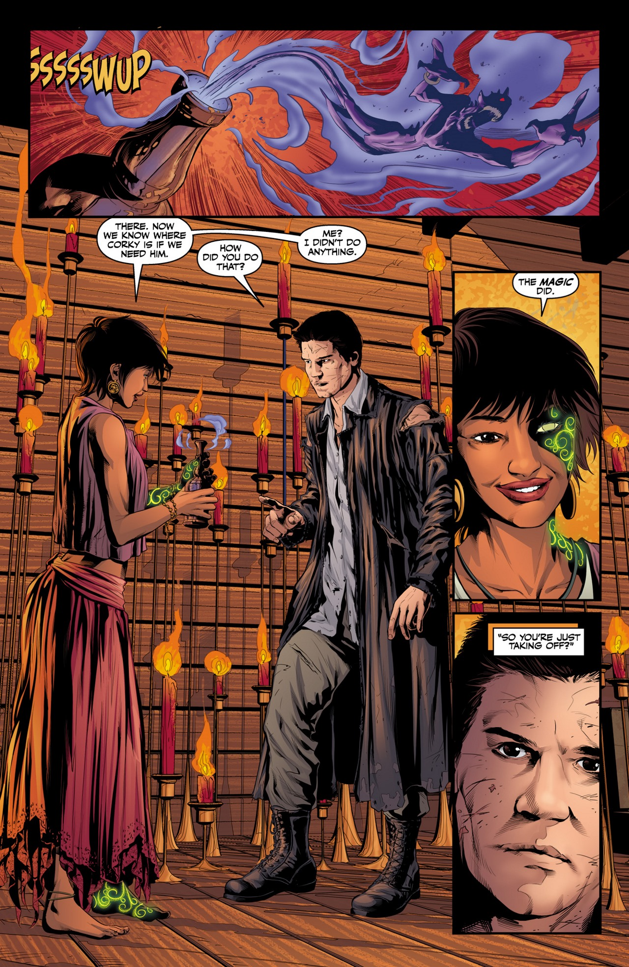 Read online Angel & Faith Season 10 comic -  Issue #4 - 18
