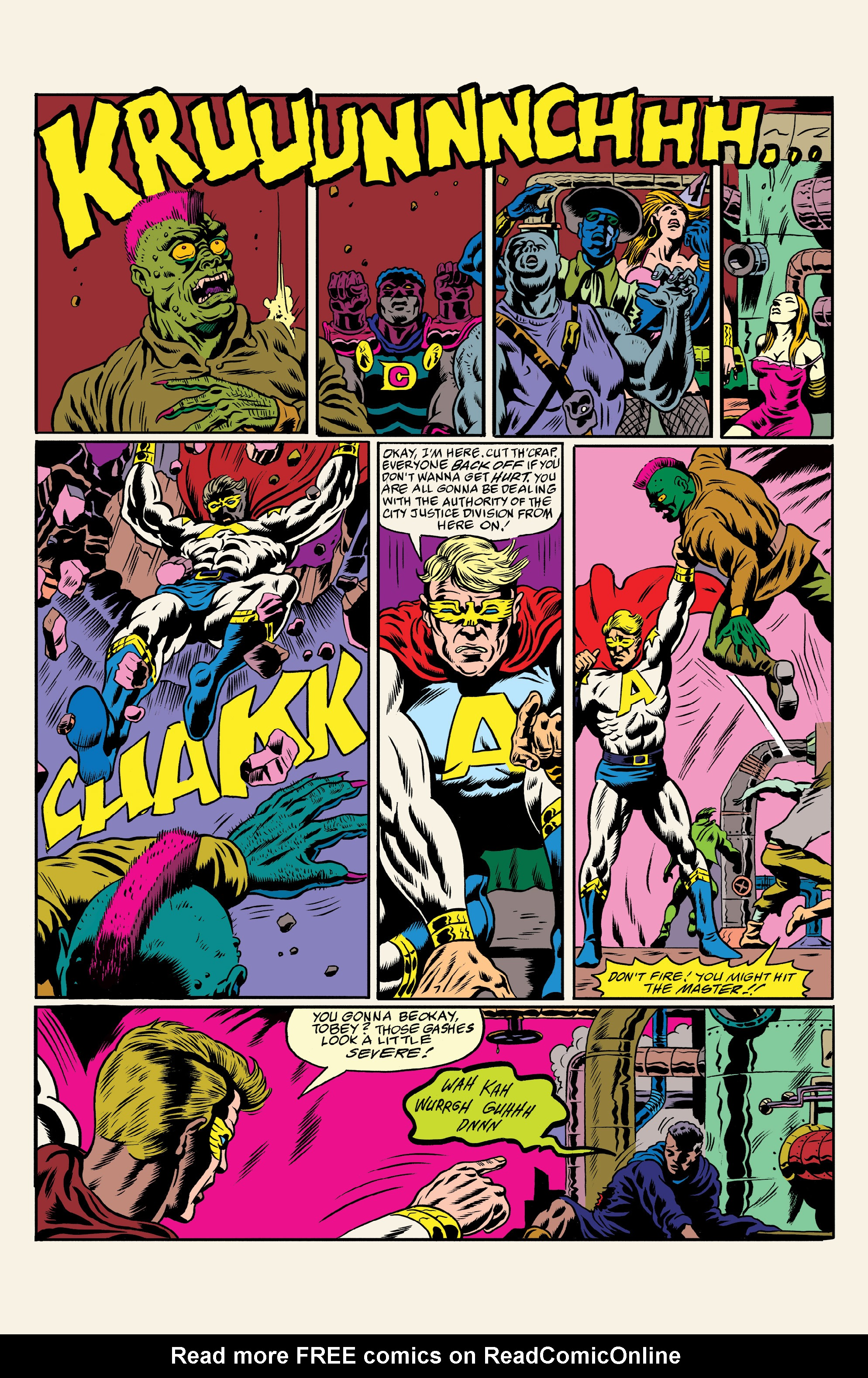 Read online All Time Comics: Crime Destroyer comic -  Issue #1 - 22