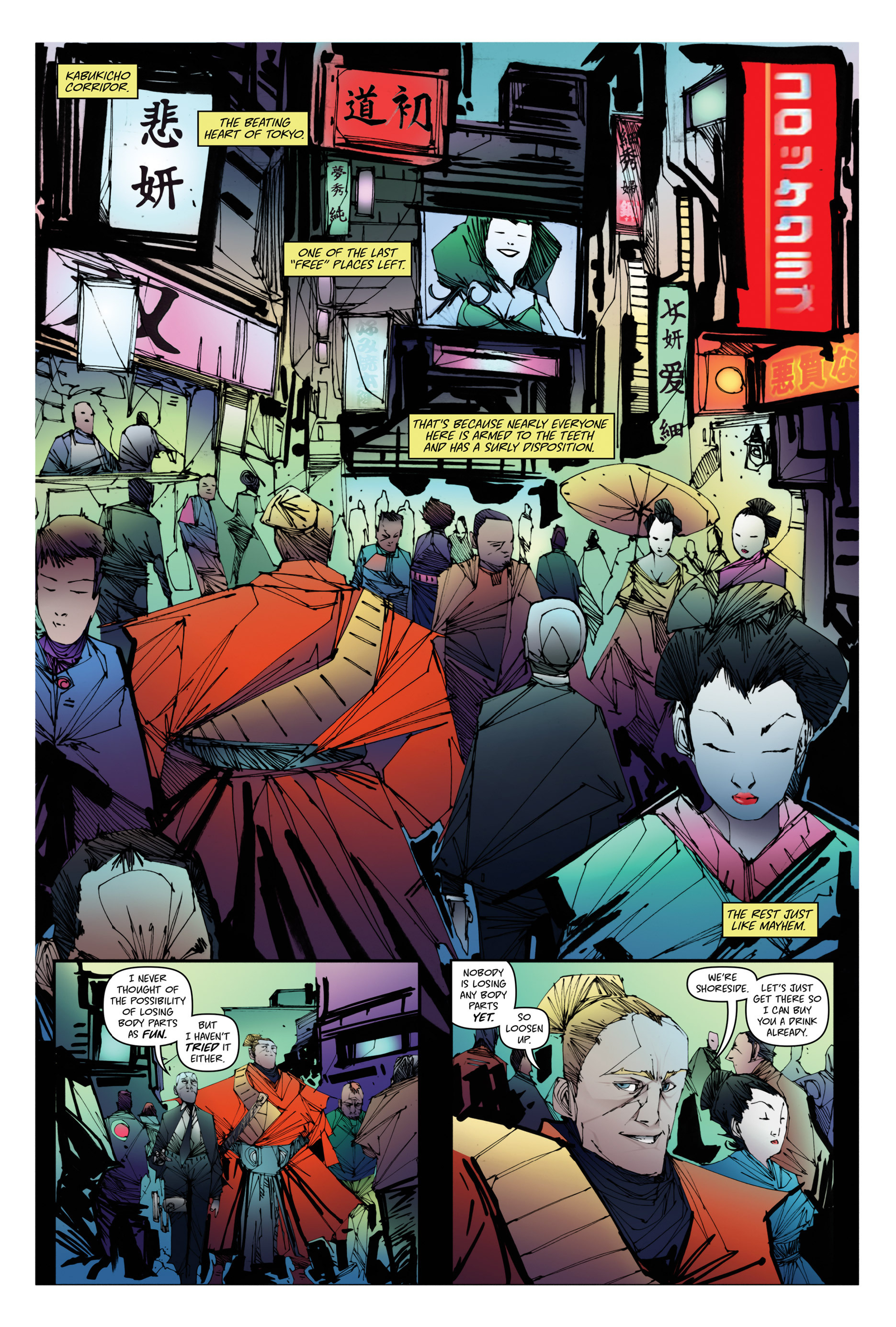 Read online Scrimshaw comic -  Issue #1 - 10