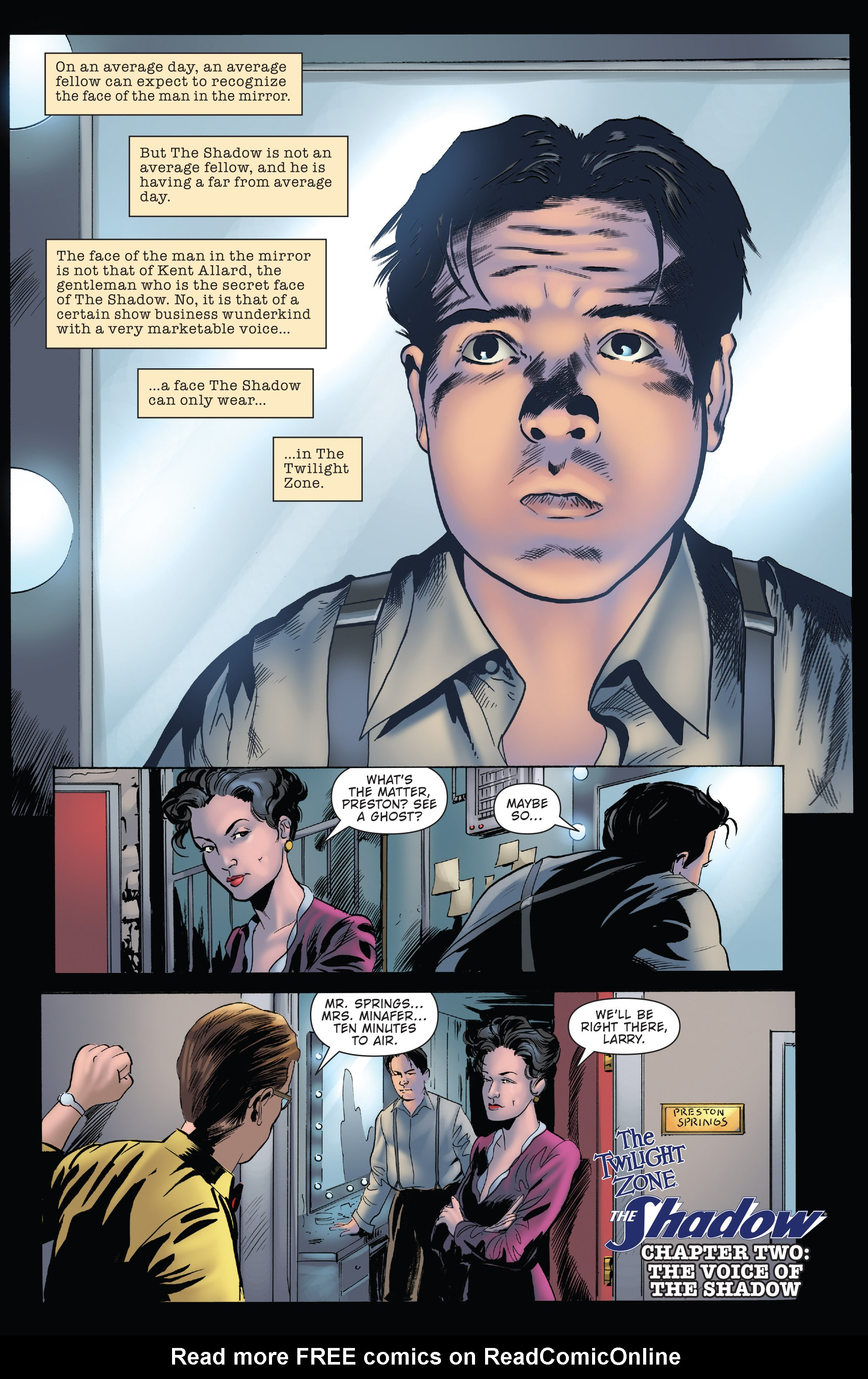 Read online Twilight Zone The Shadow comic -  Issue #2 - 3