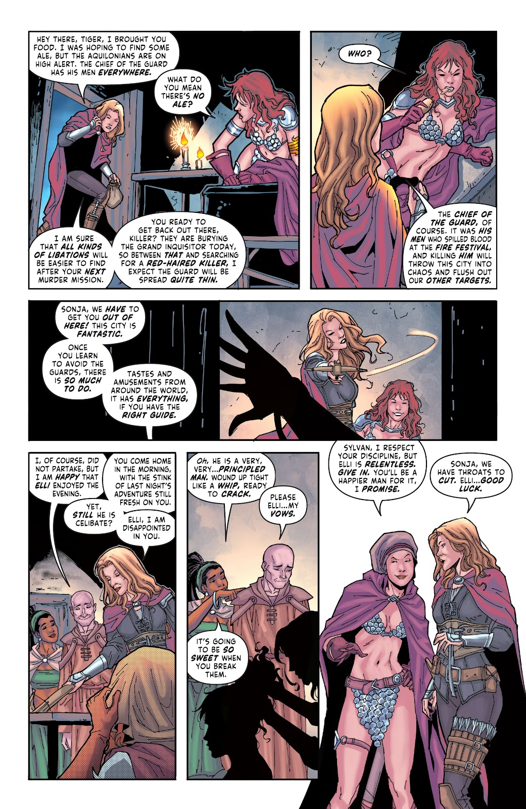 Red Sonja: The Price of Blood issue 2 - Page 9