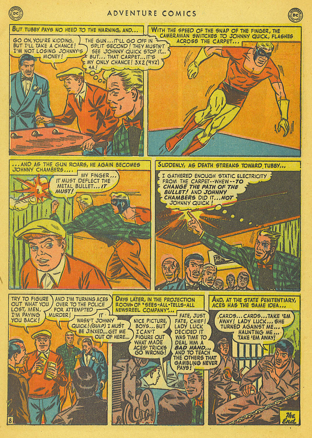 Read online Adventure Comics (1938) comic -  Issue #153 - 33