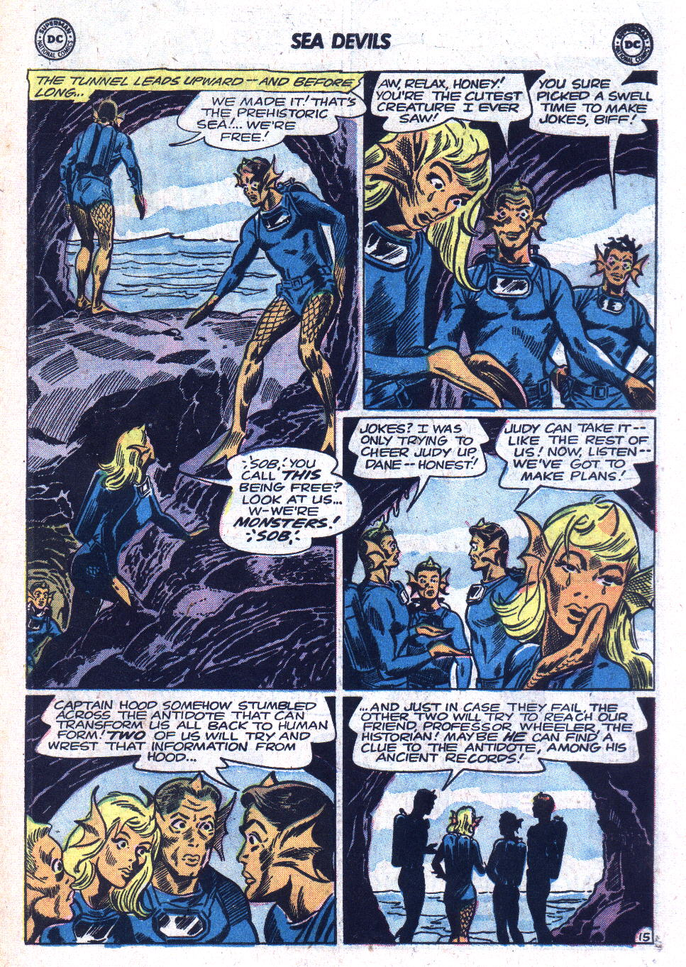 Read online Sea Devils comic -  Issue #18 - 19