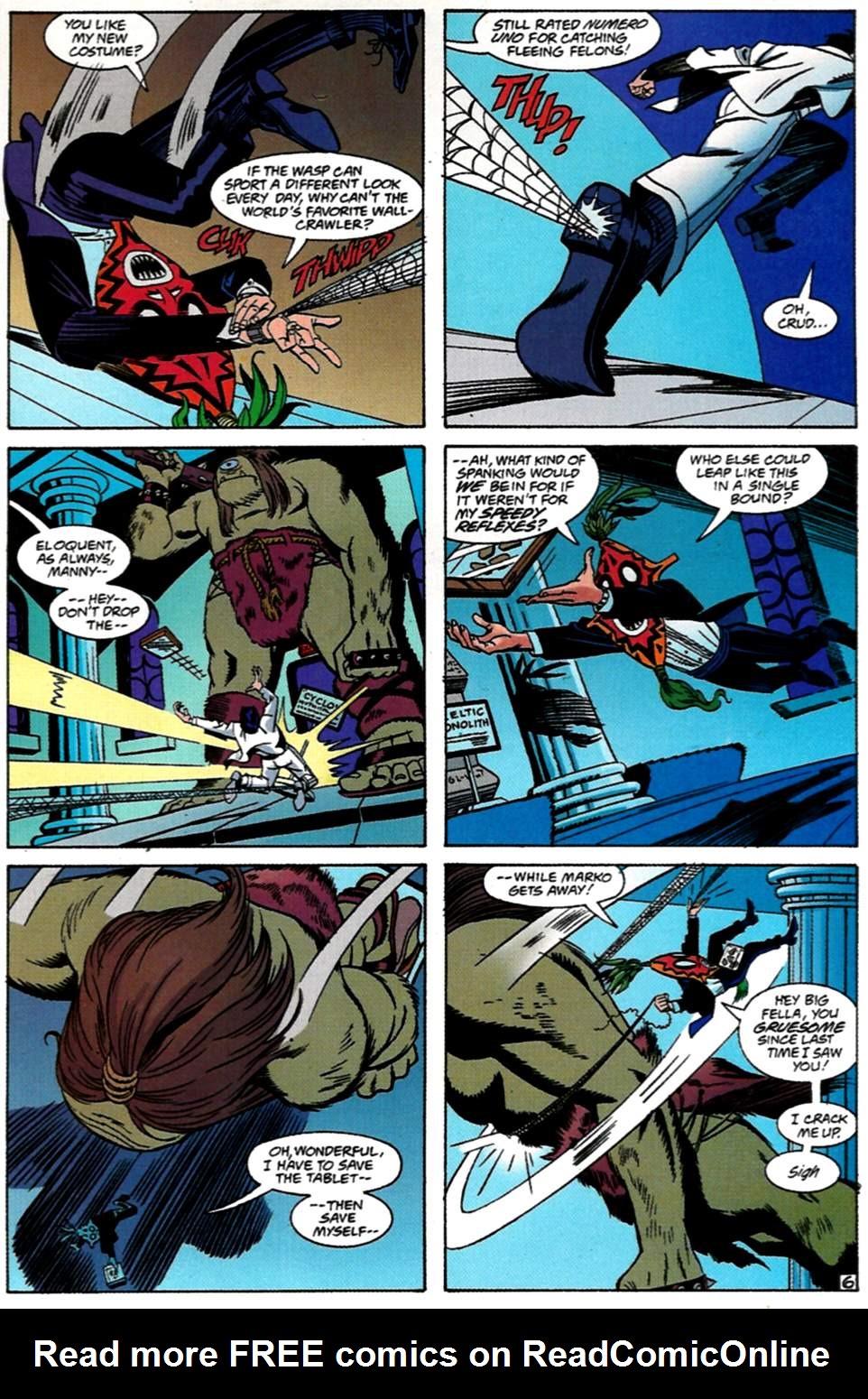 Read online Spider-Man: Lifeline comic -  Issue #1 - 7