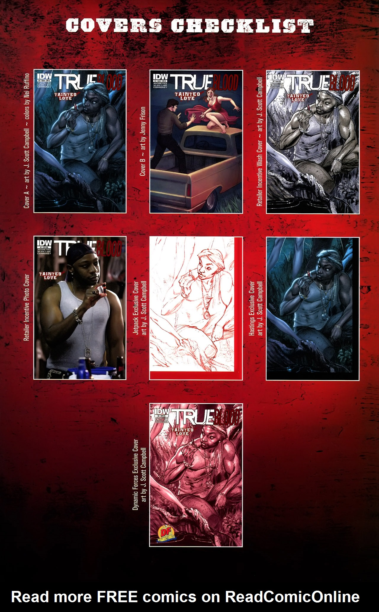 Read online True Blood: Tainted Love comic -  Issue #2 - 33