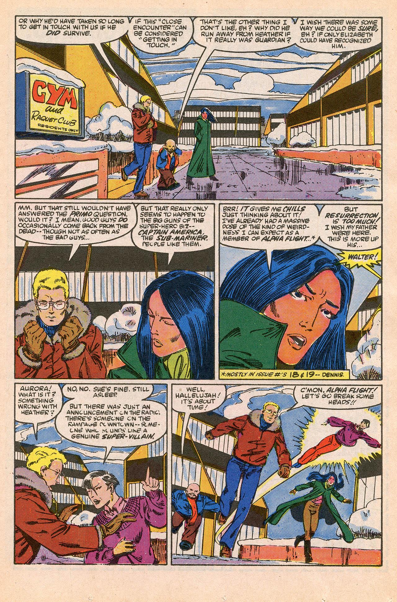 Read online Alpha Flight (1983) comic -  Issue #23 - 11