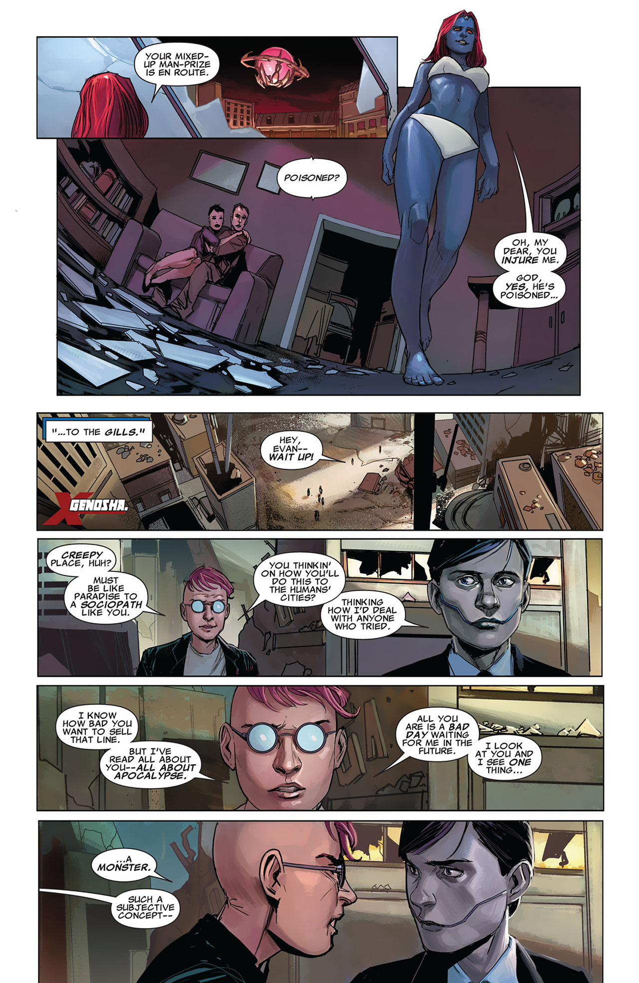 Read online Uncanny X-Force (2010) comic -  Issue #27 - 5