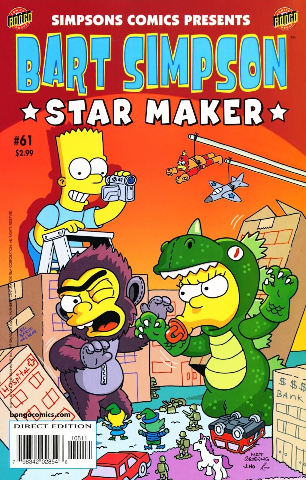 Simpsons Comics Presents Bart Simpson 61 Page 1