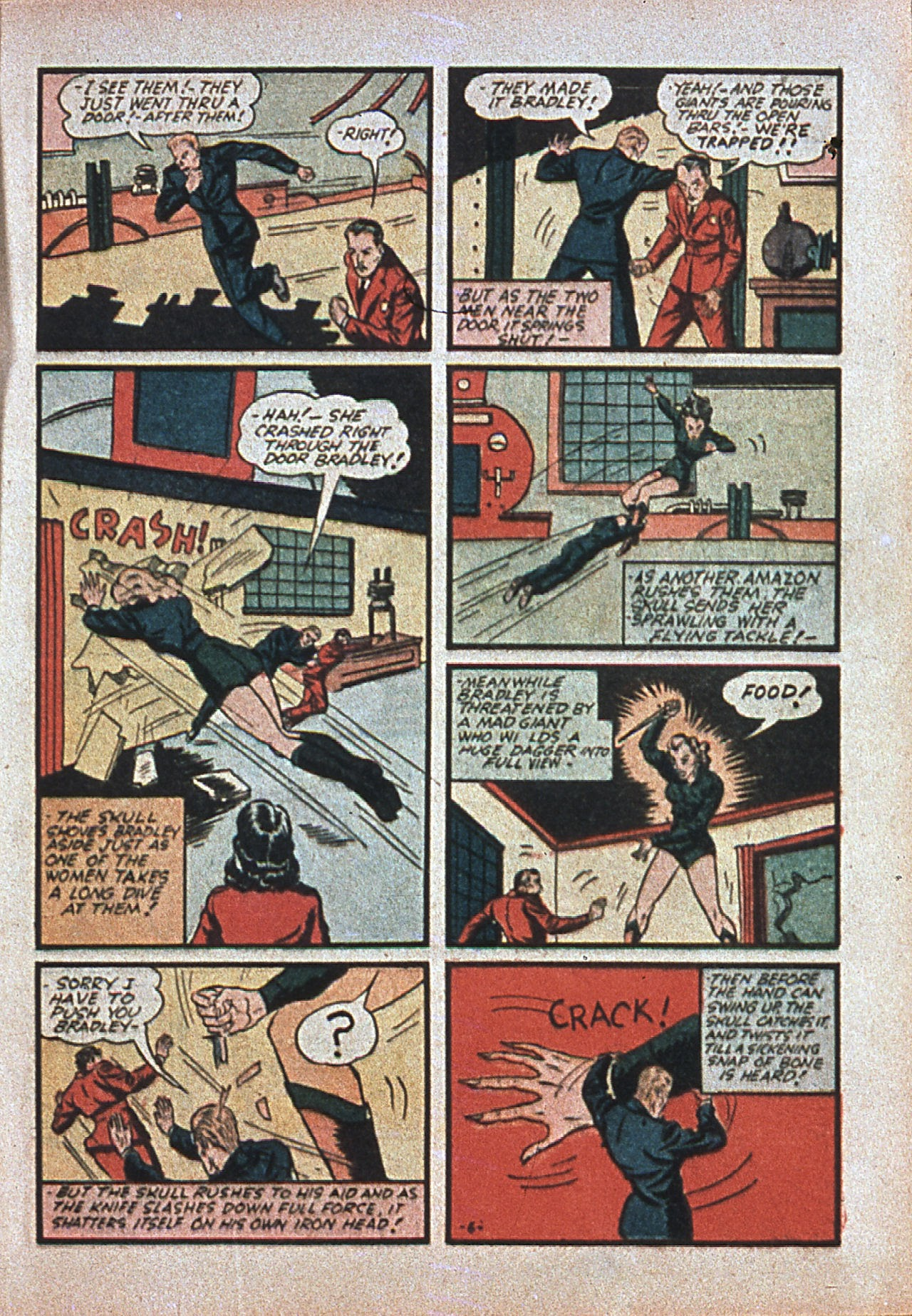 Read online Amazing Man Comics comic -  Issue #7 - 26