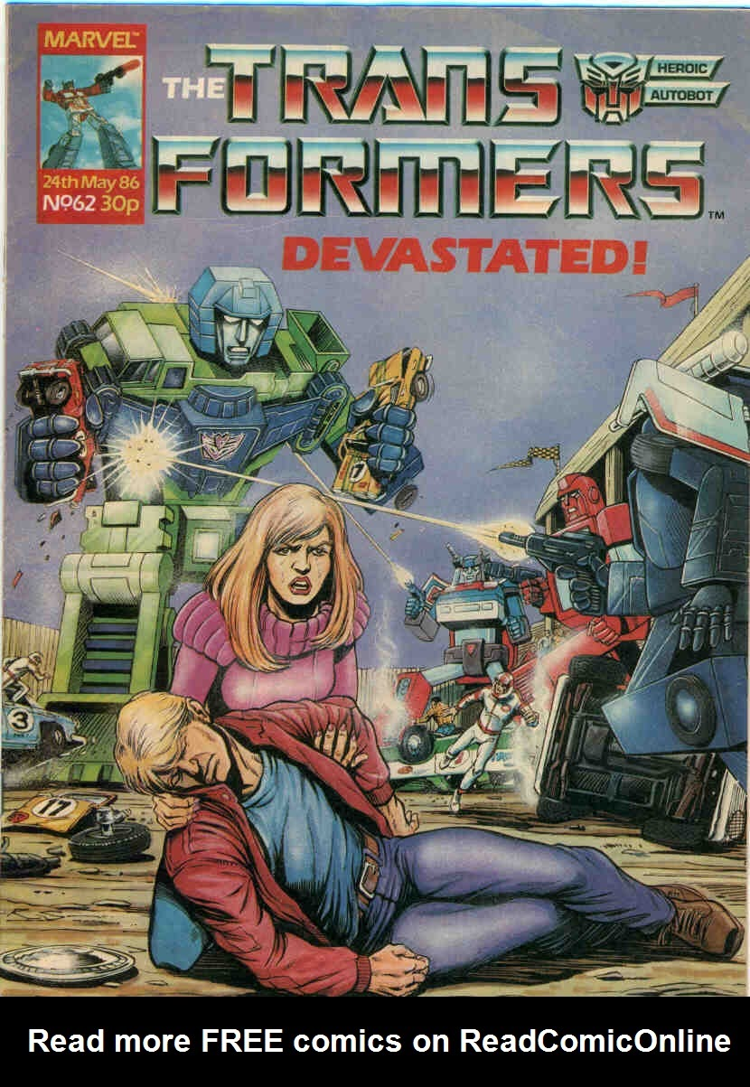 The Transformers (UK) 62 Page 1