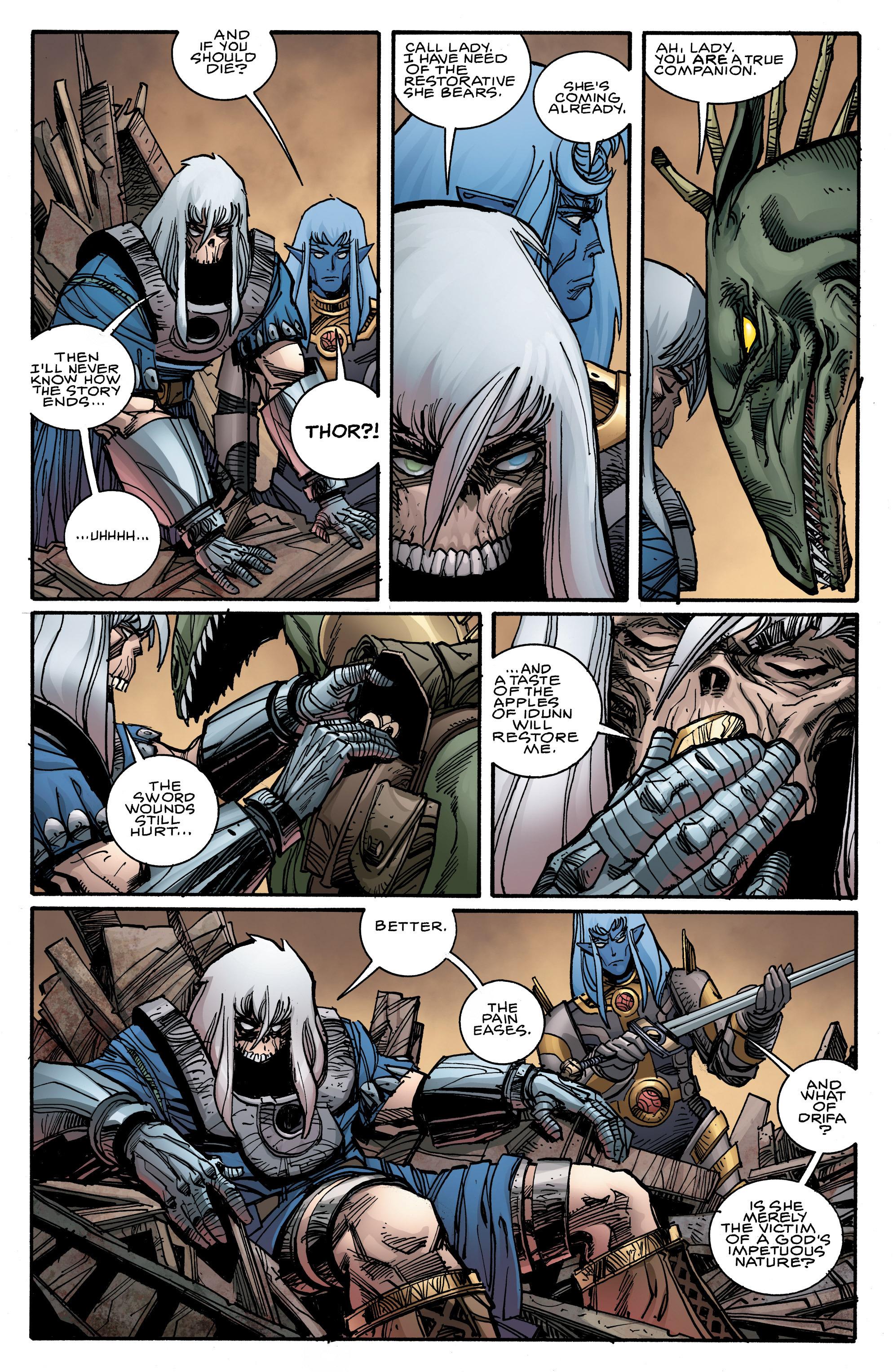 Read online Ragnarok comic -  Issue #9 - 6