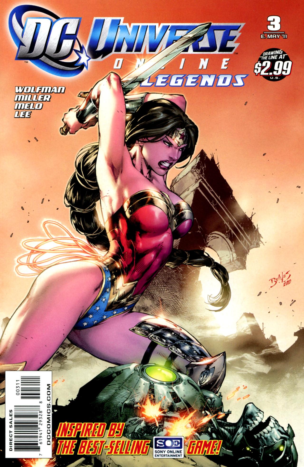 DC Universe Online: Legends 3 Page 1