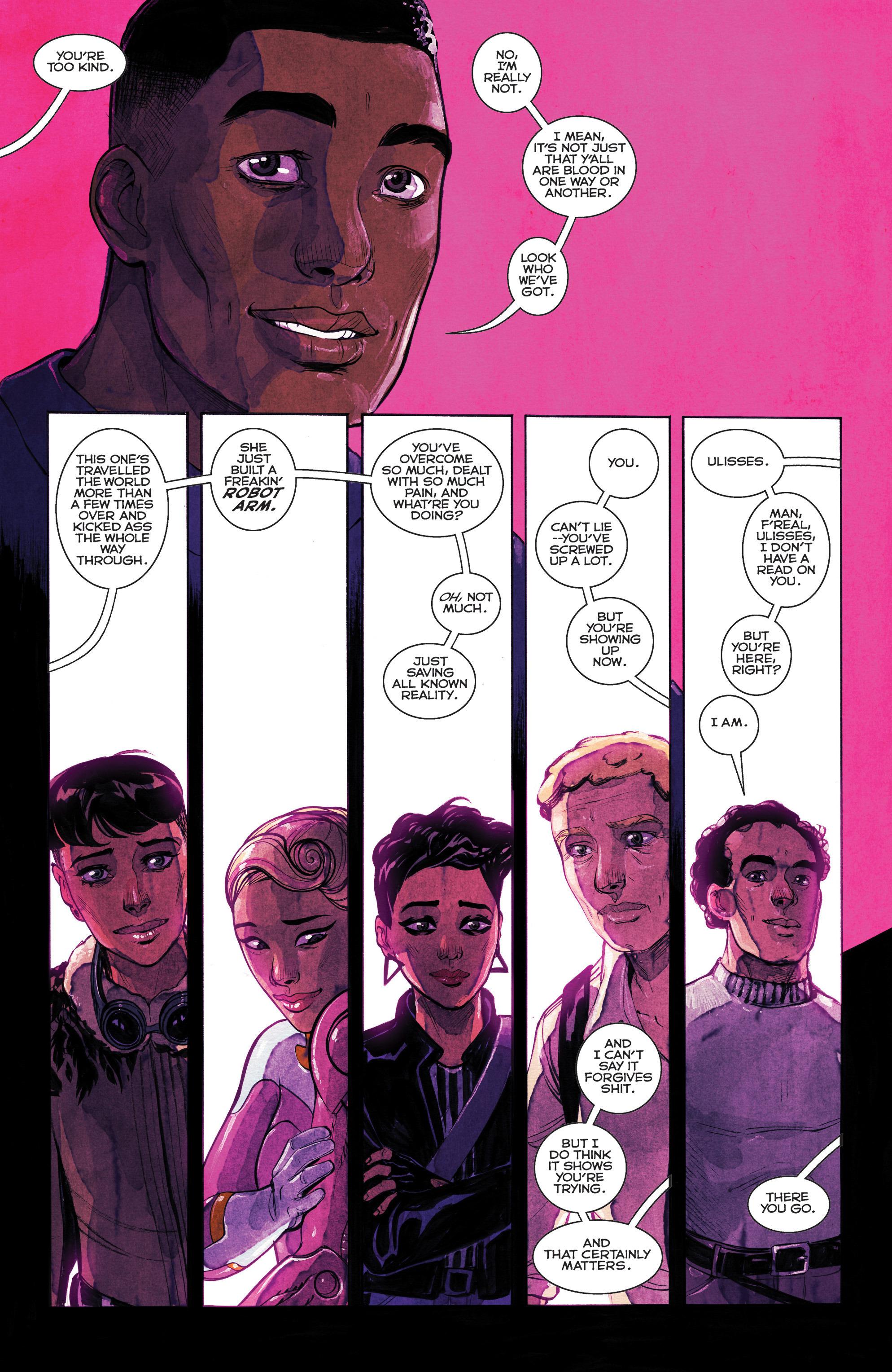 Read online Shutter comic -  Issue #25 - 14
