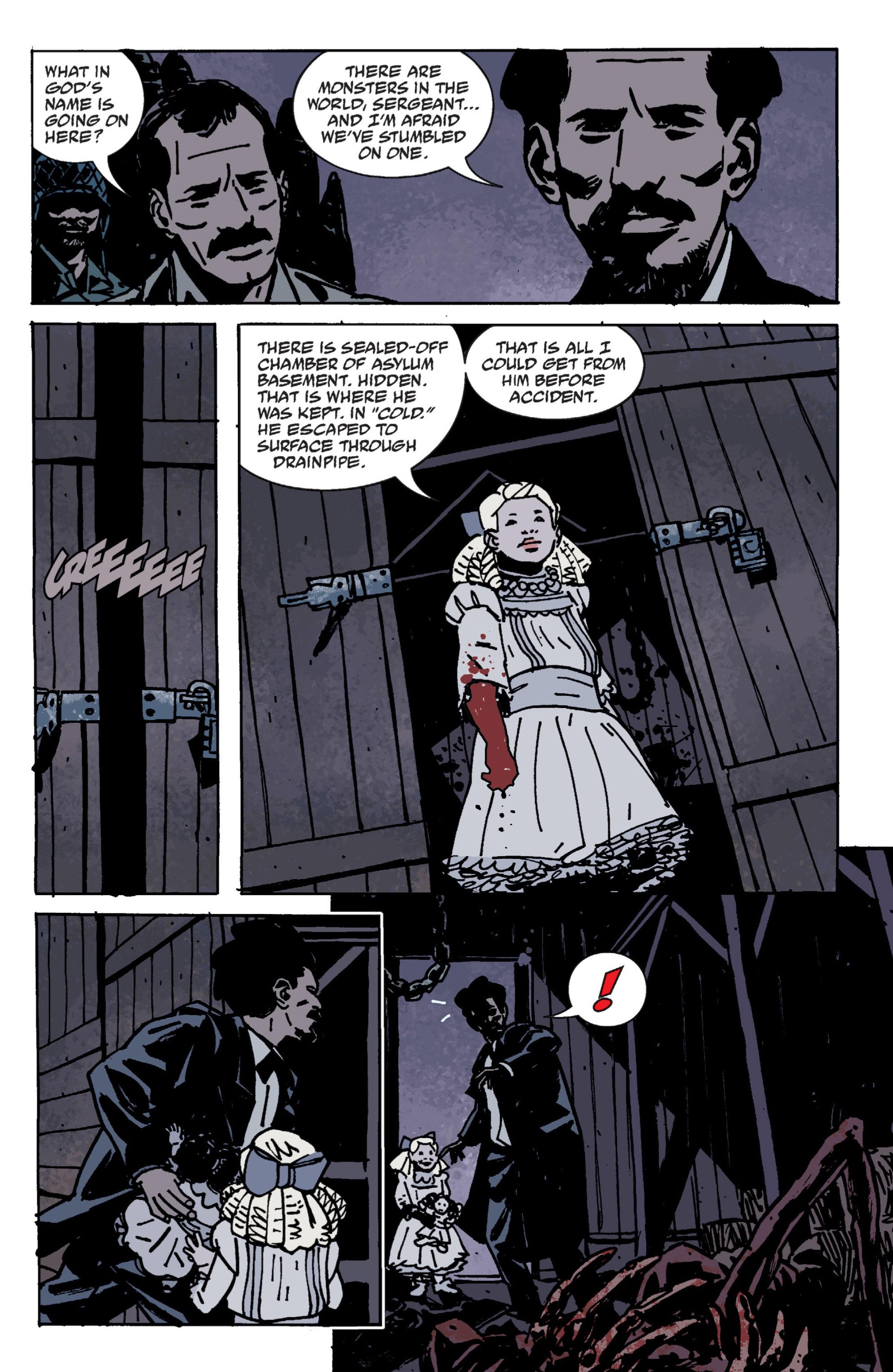 Read online B.P.R.D. (2003) comic -  Issue # TPB 9 - 47