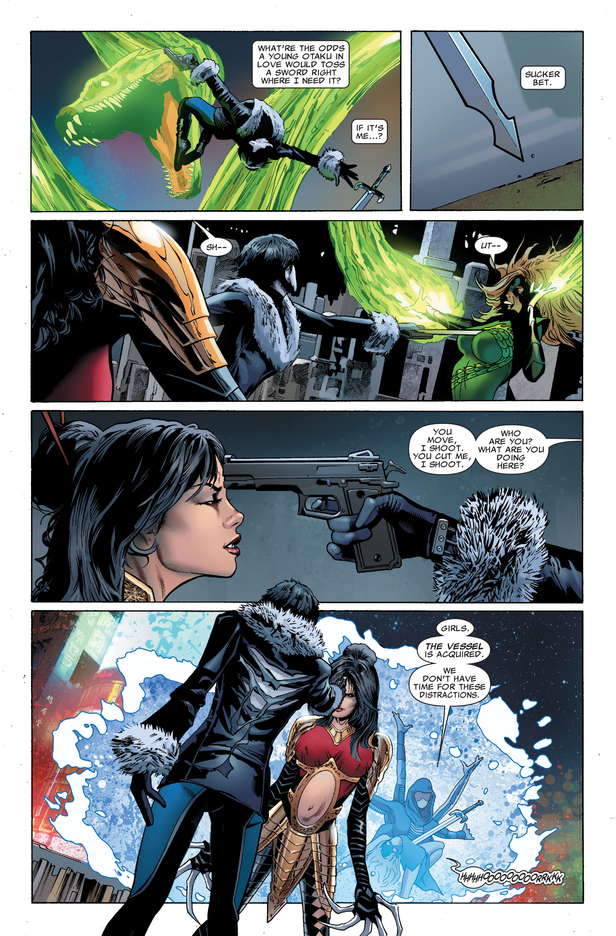 Read online Uncanny X-Men (1963) comic -  Issue #508 - 8