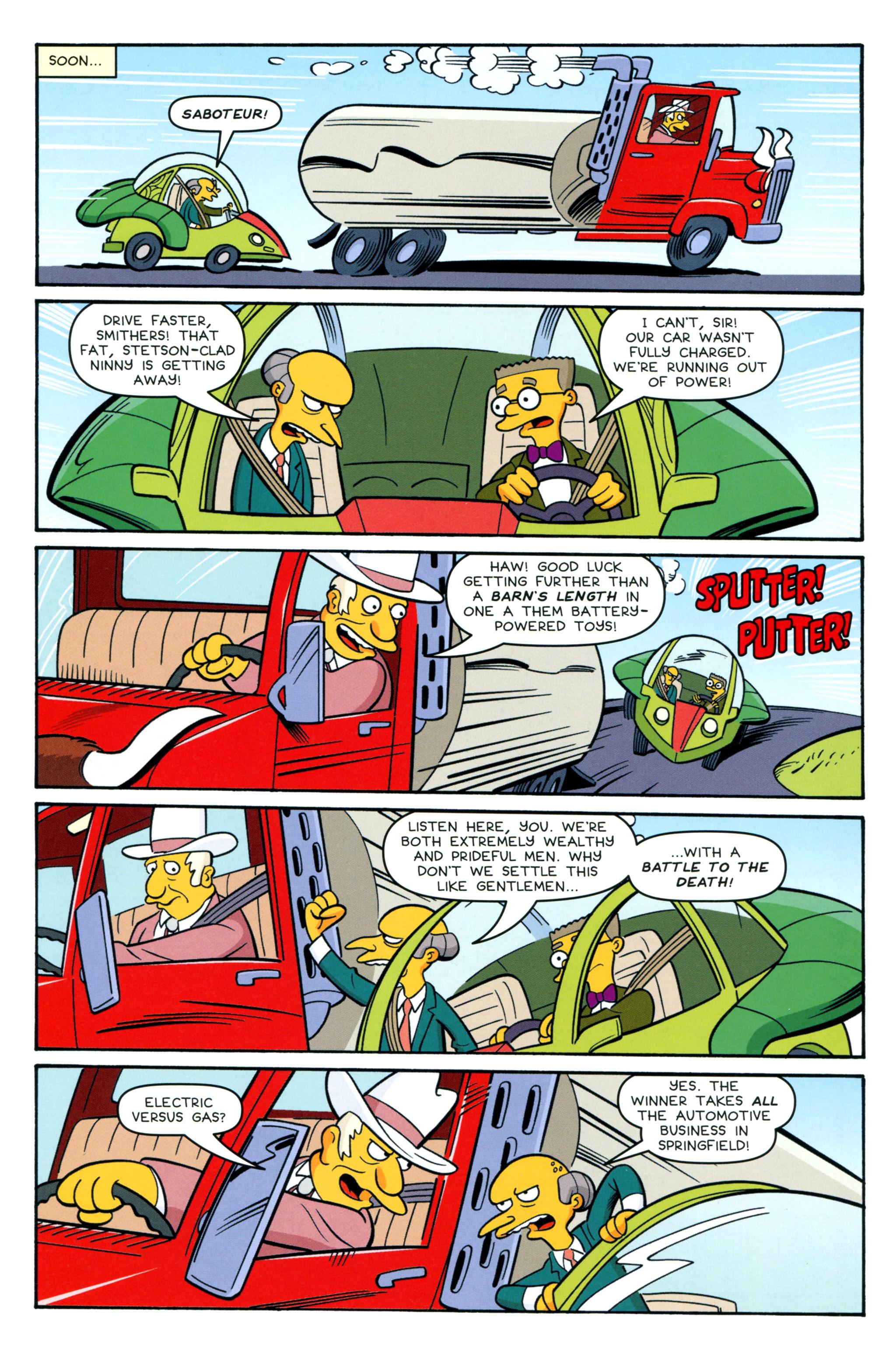 Read online Simpsons Comics comic -  Issue #212 - 13