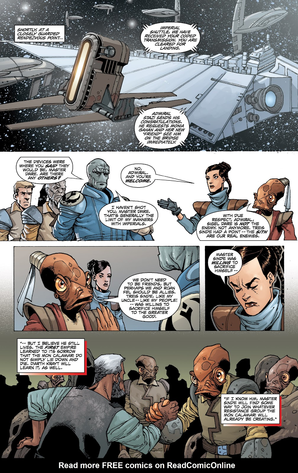 Read online Star Wars Legends: Legacy - Epic Collection comic -  Issue # TPB 2 (Part 1) - 99
