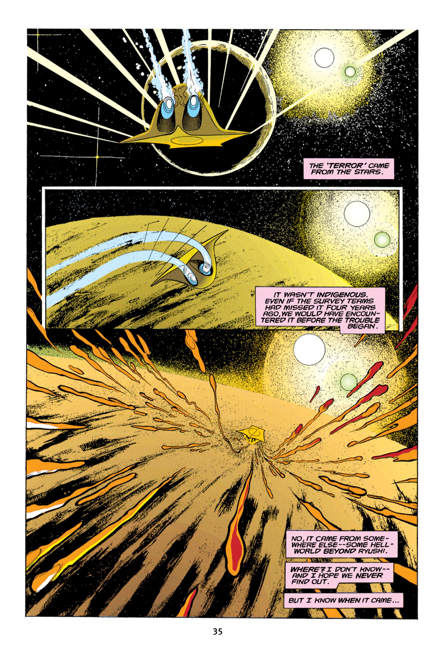 Read online Aliens vs. Predator Omnibus comic -  Issue # _TPB 1 Part 1 - 35
