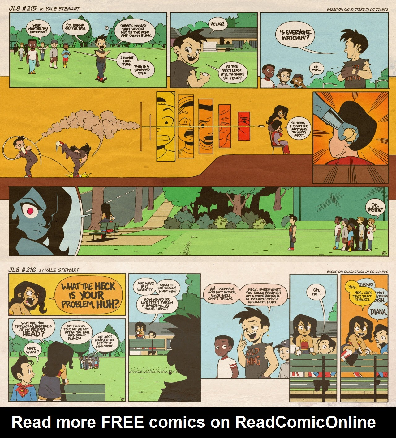 Read online JL8 – The Complete Collection comic -  Issue # TPB (Part 2) - 41